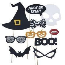 Accéssoires Photobooth Halloween (x10)