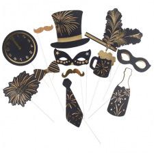 Accéssoires Photobooth Moustache (x10)