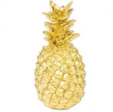 Ananas décoratif en résine 18 cm