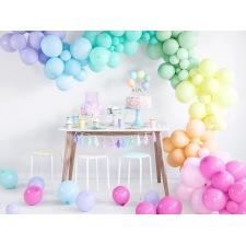 Arche de Ballon Organique Pastel