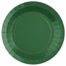 Assiettes biodégradable Vert Forêt  (x10)