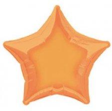 Ballon Etoile mylar Orange