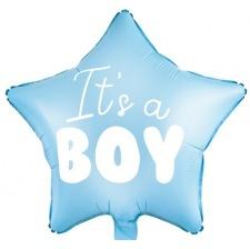 Ballon Mylar Etoile It's a Boy