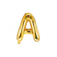 Ballon Mylar Lettre Or Alphabet 35 cm