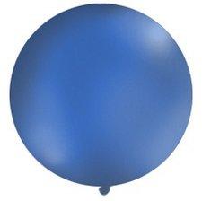 Ballon Rond Géant Bleu Marine