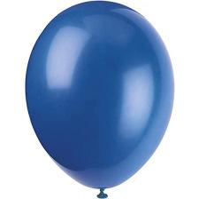 Ballons Baudruche Biodégradable Bleu Nuit Métallisé (x5)