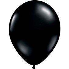 Ballons de baudruche Biodégradable Noir Métallisé (x10)