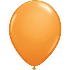 Ballons de baudruche Biodégradable Orange (x5)
