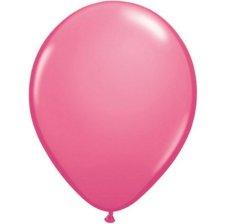 Ballons de baudruche Biodégradable Rose Fuschia Métallisé (x5)