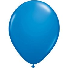 Ballons de Baudruche Latex Bleu Marine (x10)