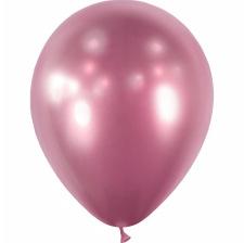Ballons Rose Gold Chromé (x5) - Latex