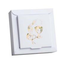 Boîte à dragées Communion - Calice Or