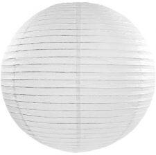 Boule japonaise en papier Blanc à suspendre