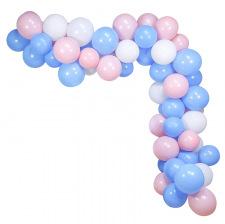 Bouquet pour Arches de Ballons Rose & Bleu (x60)