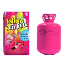 Bouteille d'hélium Jetable pour 17 ballons 23 cm