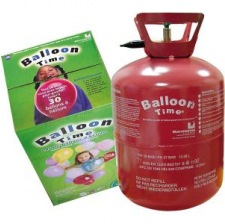 Bouteille d'hélium Jetable pour 30 ballons 23 cm