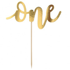 Cake Topper ONE Or