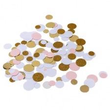 Confettis de table Pailleté Rose & Or