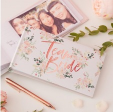 EVJF Livre d'Or Team Bride Rose Gold