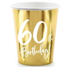 Gobelets Anniversaire 60 ans (x6)