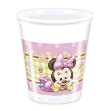 Gobelets en carton Bébé Minnie (x8)