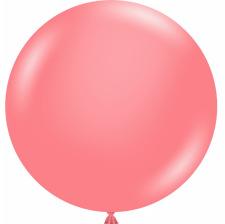 Grand Ballon en latex Corail 43 cm