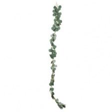 Guirlande feuilles d'eucalyptus vertes 1.5 M