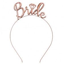 Headband Bride Rose Gold