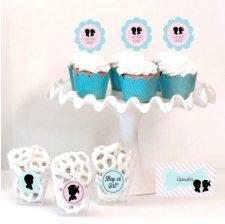 Kit Candy Bar Baby Shower Fille ou Garçon ?
