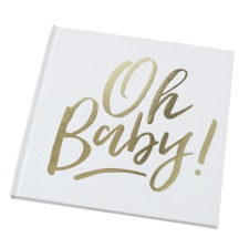 Livre d'Or Oh Baby Baby Shower