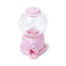 Mini Distributeur à bonbon Rose (10 cm)