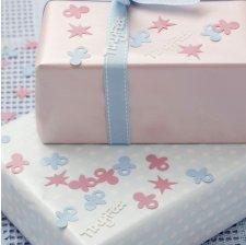 Sachet de Confettis Sucettes Rose et Bleu
