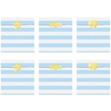 Sachets bonbons Bleu Pastel (x6)