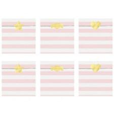 Sachets bonbons Rose Pastel (x6)