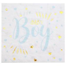 Serviettes en papier Baby Boy (x20)