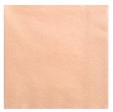 Serviettes en papier Pêche Uni (x20)