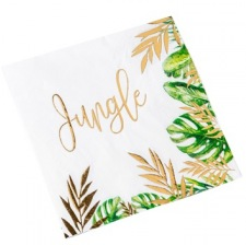 Serviettes en papier Tropical Jungle (x16)