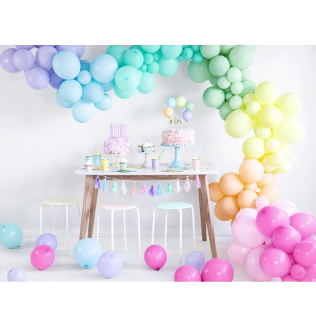 Arche de Ballon Organique Pastel  | Hollyparty