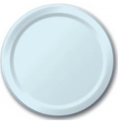Assiettes en carton Bleu Pastel (x8)| Hollyparty