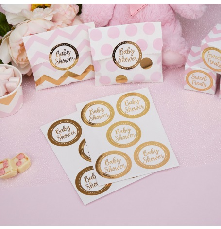 Autocollants Stickers Baby Shower (x25)| Hollyparty