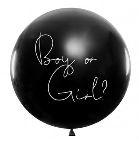 Ballon Géant Gender Reveal Confettis Rose | Hollyparty
