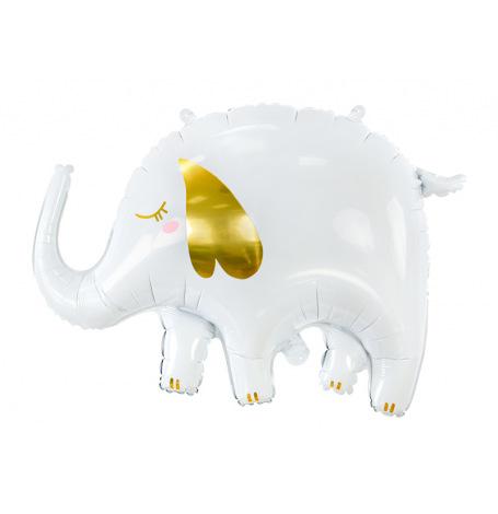 Ballon Mylar Aluminium Elephant, 61x46cm| Hollyparty