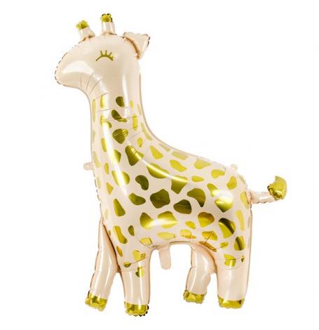Ballon Mylar Aluminium Girafe, 80x102cm | Hollyparty