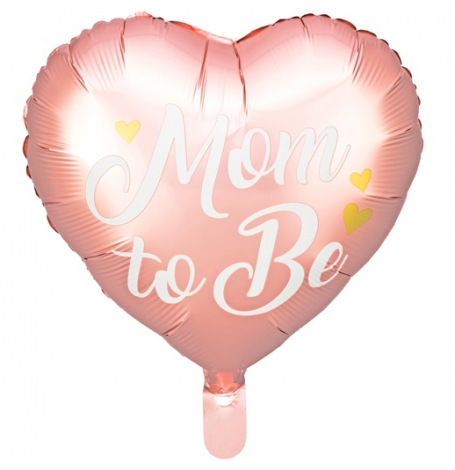 Ballon Mylar Mom to Be Rose  Hollyparty