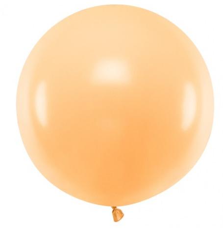 Ballon Rond Géant Orange   Hollyparty