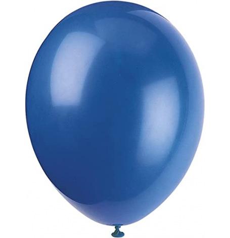 Ballons Baudruche Biodégradable Bleu Nuit Métallisé (x5)| Hollyparty