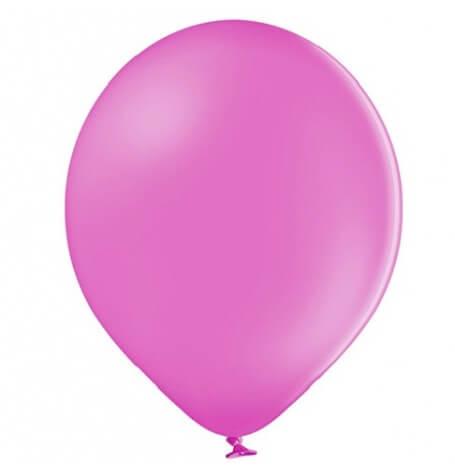 Ballons baudruche Biodégradable Rose Fuschia Pastel (x5)| Hollyparty