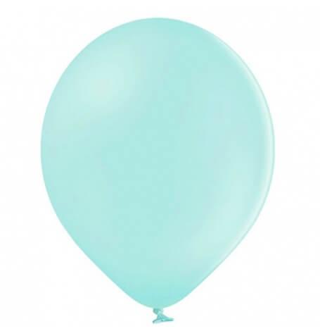 Ballons baudruche Biodégradable Vert d'Eau Pastel (x5)| Hollyparty