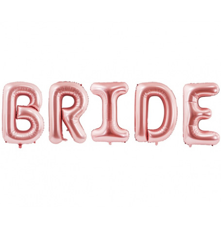 Ballons BRIDE Rose Gold 280x86cm| Hollyparty