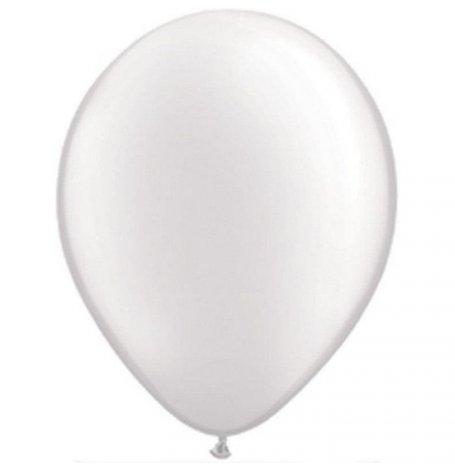 Ballons de baudruche Biodégradable Blanc (x5)| Hollyparty